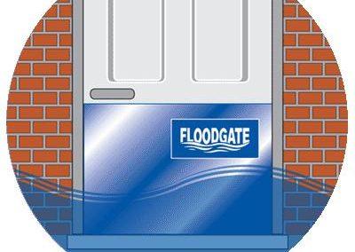 Floodgate als mobiler Hochwasserschutz