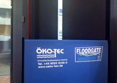 Floodgate Türsperre - mobiler Hochwasserschutz