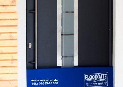 Floodgate in einer Tür