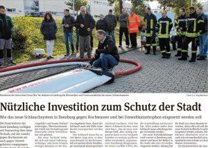 Presseartikel Hochwasserschutz